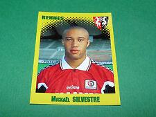 N°297 SILVESTRE RENNES STADE RENNAIS PANINI FOOT 98 FOOTBALL 1997-1998