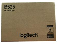 Logitech B525 Portable HD Webcam 30FPS 1080P STEREO SOUND **NEW SEALED**