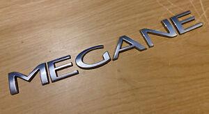 RENAULT MEGANE REAR LETTERS BADGE LOGO EMBLEM (C50)