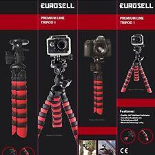 Eurosell Premium Line Tripod 1 Flexibel Kamerastativ Stativ Kamera 28cm Tisch