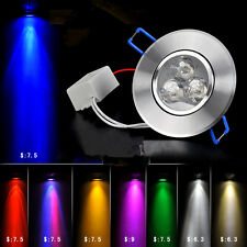 color 3W LED ceiling lamp living room background spotlight energy-saving lamp