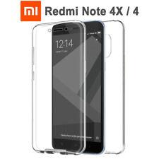 Funda Proteccion 360º Gel TPU Hibrida Transparente Xiaomi Redmi Note 4X / 4