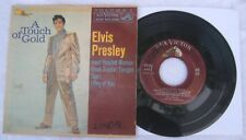 "Elvis Presley  - A Touch Of Gold -  US Picture Sleeve PS 7"" EP - Maroon label"
