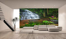 Waterfall Photo Wall Mural Photo Wallpaper GIANT DECOR Paper Poster Free Paste