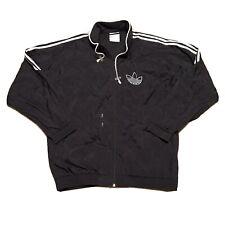 Rare Vintage 1980's Adidas Full Zip Trefoil Triple Stripe Windbreaker Size Xlg