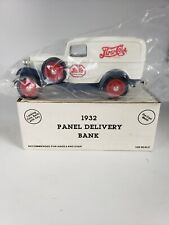 PEPSI COLA 1932 FORD PANEL DELIVERY TRUCK COIN BANK ERTL #9637 Die Cast Metal G2