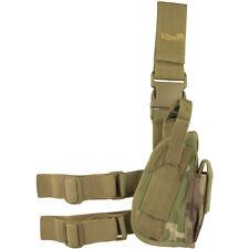 VIPER TACTICAL LEG HOLSTER RIGHT HAND PISTOL POCKET ARMY GUN CARRIER V-CAM CAMO