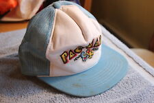 Vintage 1980's/90's mesh trucker snapback hat - Pac Man (unused)