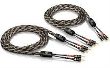 2 x 5,0m ViaBlue SC-2 singlewire Lautsprecherkabel mit T6s tube Bananensteckern