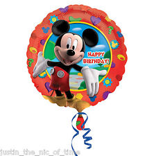 "Disney Mickey Mouse Clubhouse Boys Happy Birthday Party 17"" Foil Balloon"