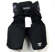 """New Warrior Hitman ice hockey pants senior size XL black waist 38"""" - 40"""" sr pant"""