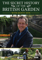 Monty Don: The Secret History of the British Garden DVD (2015) Monty Don cert E