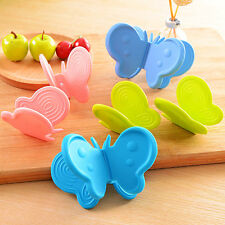 One piece Random Butterfly Shaped Silicone Anti-scald Devices Kitchen Tool