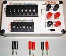 Resistance/Capacitance Decade Substitution Box w/RC Network Switch