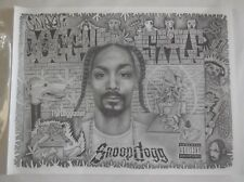 Snoop Dogg Poster 24 x 18 Sketch Art Print