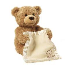 Cute Peek a Boo Teddy Bear Play Hide & Seek Electric Music Bear Plush Toy 30cm