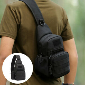 Tactical Sling Bag Pack Small EDC Molle Assault Military Army Shoulder Backpack