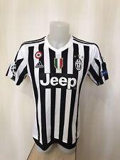 Juventus 2015/2016 Home Size M shirt jersey mailot football soccer maillot