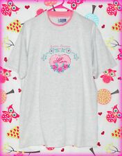 ENDLESS DESIGNS WOMEN'S L GRAY SHIRT EMBROIDERED EXTRA SPECIAL MOM W/ ROSES
