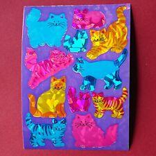 Sticker album autocollants vintage 90er SANDYLION paillettes Prismatic Papillons