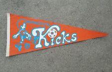 "Minnesota Kicks Vintage Pennant 1970s Soccer - Size 30"" x 12"""