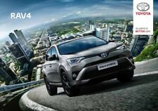 2019 MY Toyota RAV4 07 / 2018 catalogue brochure Hongrois Hungarian Magyar