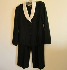 e950076c1f439 Danny & Nicole New York Womens 10P 2 Piece Suit Pants Jacket Career Petite  Nice