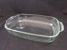 "SIMAX Glass 13.5"" x 9.5"" x 2"" Oblong Oval Drying Storage Sterilizing Tray Dish"