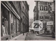 VILLE LYON Rue AFFICHE Cirque ANCILLOTTI PLEGE Anis SYLVESTRE Photo 1926