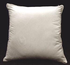 Rc408a Off White Soft Pure Cotton Fabric Cushion Cover/Pillow Case*Custom Size*