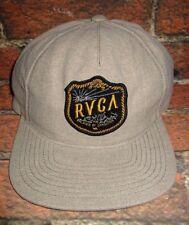 521c1807a95 MENS RVCA KHAKI SNAPBACK ADJUSTABLE HAT CAP ONE SIZE