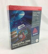 Avery DESIGNPRO 2000 ADP2000 Creative Design & Print Software - Sealed/Unopened