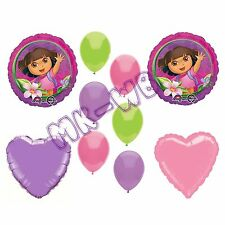 Dora the Explorer Party Balloons Set - 10 Pieces