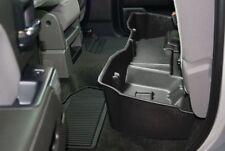 DUHA Under Seat Storage For Silverado Sierra DoubleCab 2014-19 Black Rear 10304