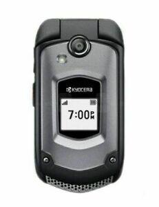 EXCELLENT 4G LTE Sprint Kyocera Duraxtp E4281 Basic Flip Rugged Cell Phone Tello