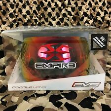 NEW Empire EVS Mask Dual Pane Anti-Fog Thermal LENS - Sunset Mirror