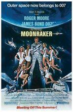 JAMES BOND ~ MOONRAKER BLASTING 24x36 MOVIE POSTER Roger Moore 007 Advance