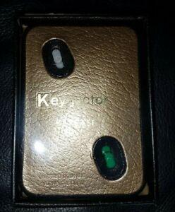 Swank Key-jector Gold Key chain organizer mens accessory KEY CASE