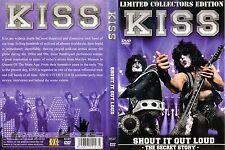 Kiss The - DVD - Shout It Out Loud - The Secret Story von 2012 - NEU & OVP !