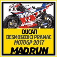 Kit Adesivi Ducati Desmosedici Pramac MotoGP 2017 - High Quality Decals