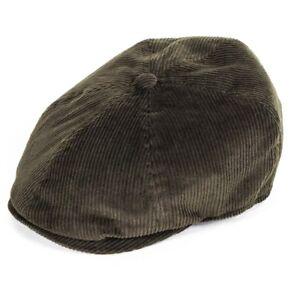 Failsworth Hats Hudson Cord 6-Piece Duckbill - Olive