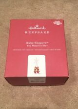 2018 The Wizard Of Oz Ruby Slippers Hallmark Ornament New In Box
