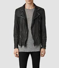 All Saints Men's Cargo Leather Jacket xs