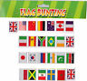 Flags of the World Bunting 25 Countries 7 Metre International Sports Olympics