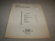 Album for the Young Organist Austris Wihtol 1946 Kama Co.