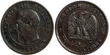 NAPOLEON III 2 CENTIMES 1856 K