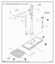 CMK Planet MV083 1/72 Resin Detail Kit WWII Wasserkran (WaterCrane) for Railway