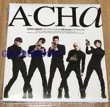 SUPER JUNIOR A-CHA ACHA 5TH ALBUM Repackage Version C K-POP CD SEALED