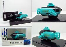 Rc sous-marin télécommandé r/c top Lights sous-marin 49mhz vert nouveau