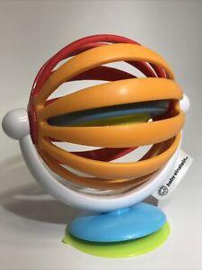 Baby Einstein Blue Sticky Spinner Activity Toy Age 3 Months and Older BPA Free